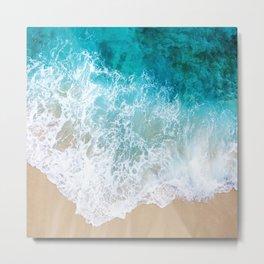 BEAUTIFUL WAVES# Metal Print