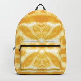 Yellow Tie Dye Twos Backpack