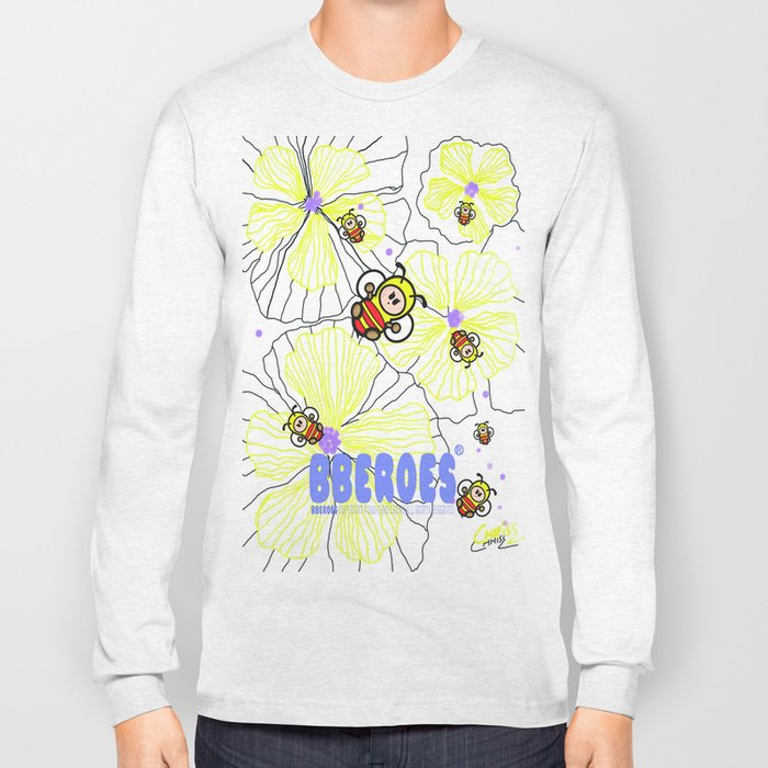BBEROES Jelly Flower & Bee Long Sleeve T-shirt
