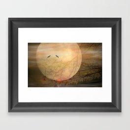 Moonlight Serenade Framed Art Print