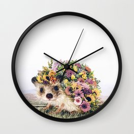 Walking Bouquet Wall Clock
