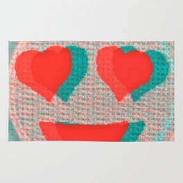Heart Emoji Rug
