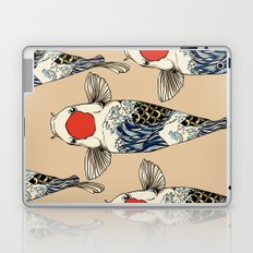 The Great Wave Of Koi Laptop & iPad Skin