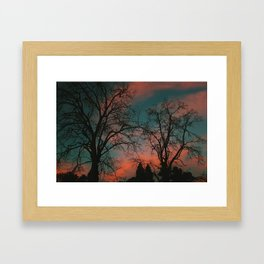 Sleeping Valentine Framed Art Print