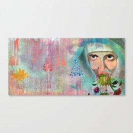 """""""Un día dejaremos de rezar y nos pondremos a vomitar flores"""" Canvas Print"""