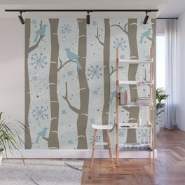 Winter Times Wall Mural