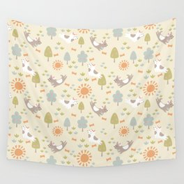 Dog Park Wall Tapestry