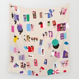 THE BEACH Wall Tapestry