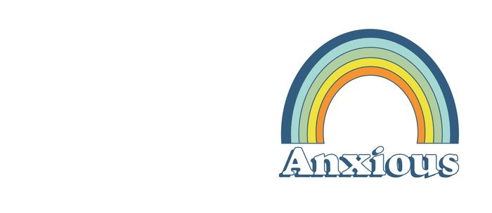 Anxiety Rainbow Kaffeebecher
