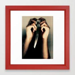 Scissorbird Framed Art Print