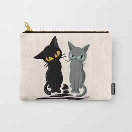 Black and gray Carry-All Pouch