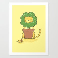 To Be King! Art Print