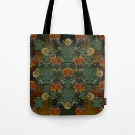 """Glass candy Mosaic (caramel pattern)"" Tote Bag"