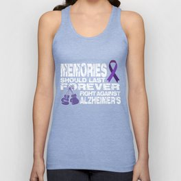 Alzheimers T-Shirt Funny Fight Against Alzheimers Apparel Unisex Tank Top