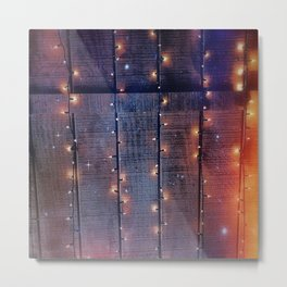 Whimsy and Rustic Metal Print