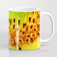 sunflower Mugs featuring Sunflower by Falko Follert Art-FF77