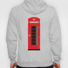 UK Telephone Box Hoody