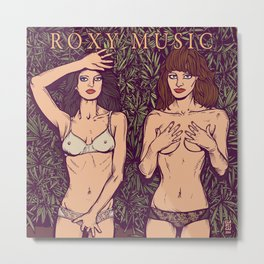 ROXY MUSIC - Country Life Metal Print