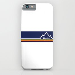 Alyeska Ski Resort iPhone Case