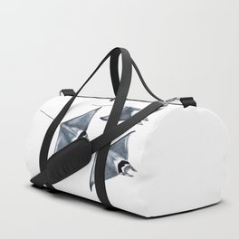 Devil fish Manta ray Mobula mobular Duffle Bag