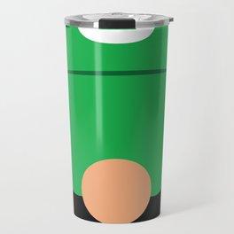 Minimalistic Plumber Green Travel Mug