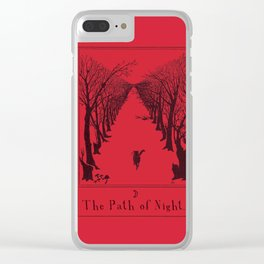 The Path of Night Clear iPhone Case