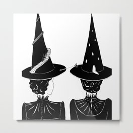 Two Witches Metal Print