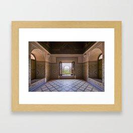 Reception Hall Framed Art Print