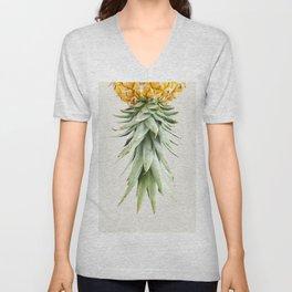 Calm pineapple Unisex V-Neck