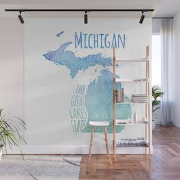 Michigan Wall Mural