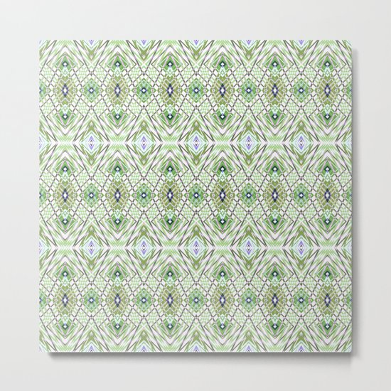Geometric pattern .4 Metal Print