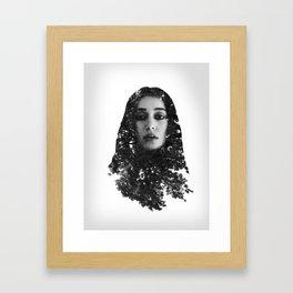 Alycia Debnam-Carey Exposure Framed Art Print