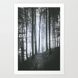 In Search of Tomorrow Art Print