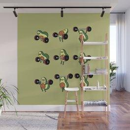OLYMPIC LIFTING  Avocado Wall Mural