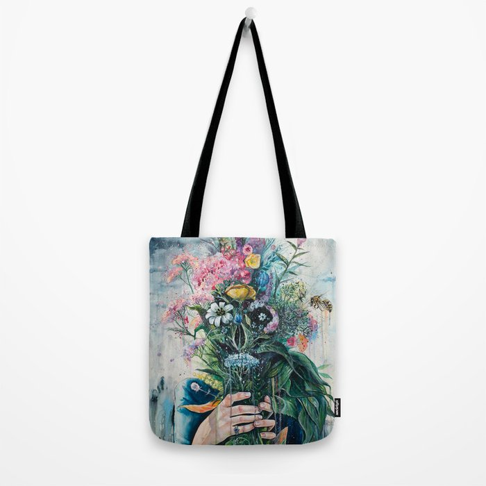 The Last Flowers Tote Bag