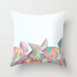 Crystallized II Throw Pillow