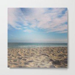 WINTER SEA II Metal Print