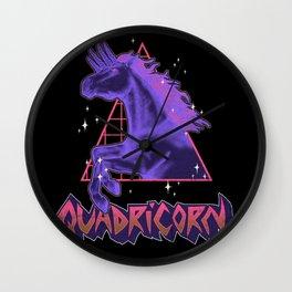 Quadricorn Wall Clock