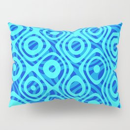Mixed Polyps Blue - Coral Reef Series 036 Pillow Sham
