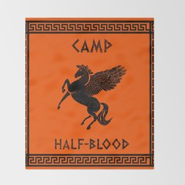 Camp Half-Blood Throw Blanket