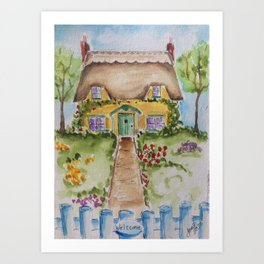 Cotswold Beauty Art Print