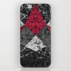 Marble Geometric Background G431 iPhone Skin