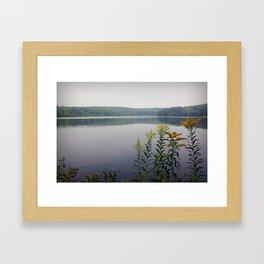 Moon Lake Park  Framed Art Print