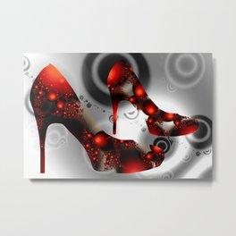 my red highheels Metal Print