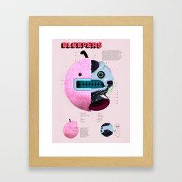 Bleepers Framed Art Print