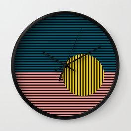 Multi lines Wall Clock