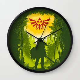 Let the Journey Begin Wall Clock