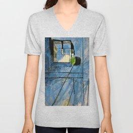Henri Matisse - View of Notre Dame - Digital Remastered Edition Unisex V-Neck