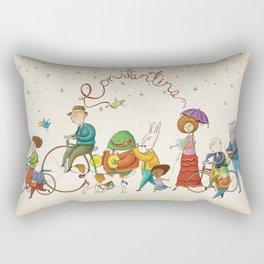 ¡Hola amigos! Rectangular Pillow