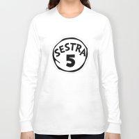 orphan black Long Sleeve T-shirts featuring Sestra 5 (Helena - Orphan Black) by Illuminany